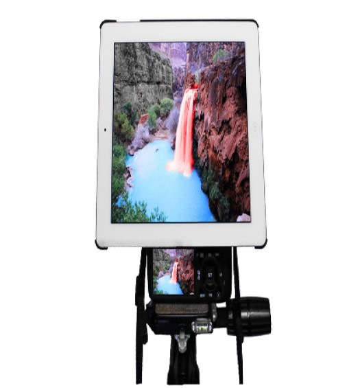 iPad Pro 9.7 Camera SLR Hot Shoe Flash Connection and Tripod Mount Adapter Kit