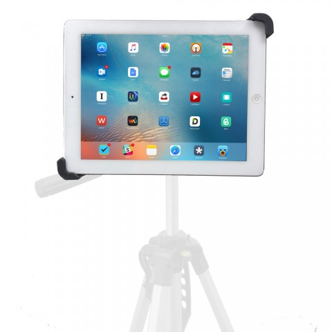 G10 Pro Large iPad Pro Universal Tablet Tripod Monopod Mic Music Stand Mount Fits 8-13 inch Tablets