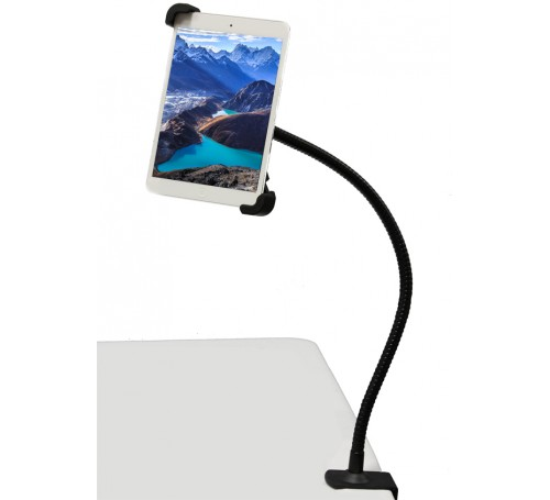 bed mount for ipad pro, ipad pro bed mount, headboard mount for ipad pro, counter top mount for ipad pro, cabinet mount for ipad pro, gooseneck clamp mount holder bracket  for ipad pro, ipad pro mount, ipad pro mounts, ipad pro accessories,
