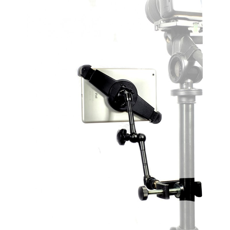 Ipad Air 1 Tripod Microphone Stand Camera Clamp Mount 11 Rock Solid Extension Arm