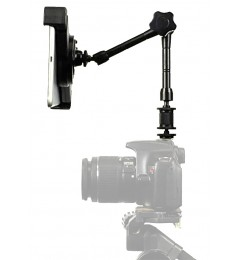 "G10 Pro iPad Pro 11 SLR Camera Teleprompter Hot Shoe Flash Mount Connection + 11"" Extension Arm"
