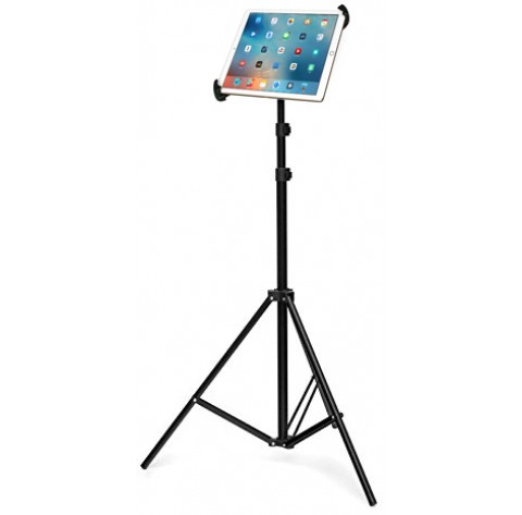 G10 Pro Large Universal iPad Pro Tablet Tripod Mount + 360° Swivel Ball Head + Tripod Stand w/ Bag Fits 8-13 inch Tablets