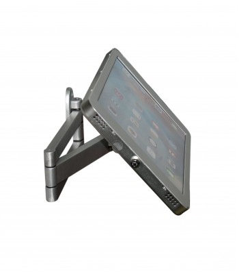 G9 Pro iPad Pro 10.5 Wall VESA Style HD Swing Arm Kiosk Mount with Security Key Locking