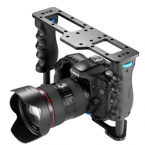 Aluminum Alloy Film Movie Making Camera Video Cage for DSLR Camera GoPro Camcorder Flash LED Light Microphone