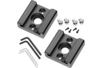"""Cold Shoe Mount Adapter Cold Shoe Bracket Standard Shoe Type with 1/4"""" Thread Hole for Camera DSLR Flash Led Light Monitor Video and More 2-Pack"""