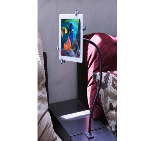 wheelchair mount for ipad pro 12.9 11 9.7 10.5, ipad pro wheelchair mount, bed mount for ipad, ipad bed mount, headboard mount for ipad, counter top mount for ipad, ipad pro mount, cabinet mount for ipad, gooseneck clamp mount holder bracket  for ipad pro