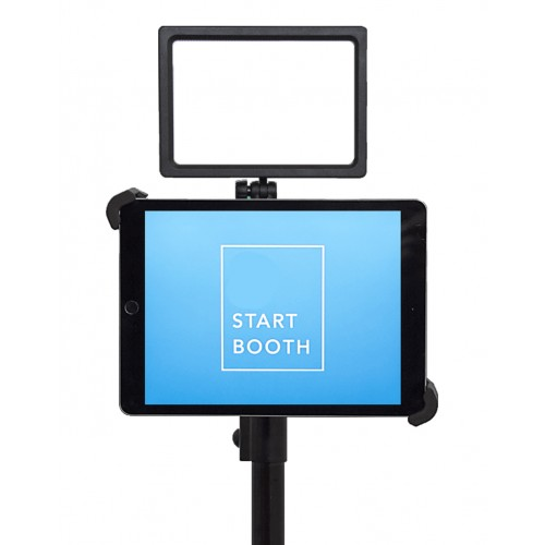 G10 Pro DIY iPad Tablet Photo Booth Portable Tripod Stand with High  Intensity Basic 160 LED Light Kit, Fits 7-11