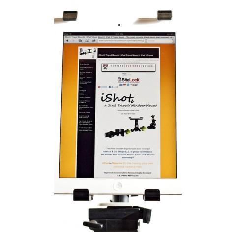 G5 Pro iPad Mini 1234 Tripod / Monopod Mount Adapter Holder + Free Suction Stand Mount