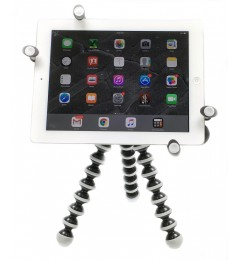G7 Pro iPad 123456, iPad Air, mini, Pro 9.7 / 10.5 Tripod Mount + 360° Swivel Ball Head + Flexible Gorilla Pod Tripod Stand
