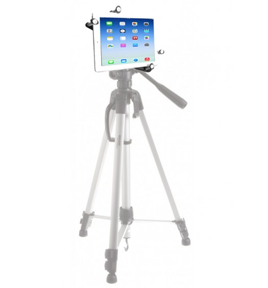 G7 Pro iPad Pro 12.9 Tripod Mount + 360° Ball Head + Flexible Gorilla Pod Desktop Tripod Stand