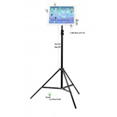 G7 Pro iPad Tripod Mount and Stand Bundle Kit for iPad 1, 2, 3, 4, 5, 6, 7, 10.2 mini, Air, Pro 9.7 / 10.5