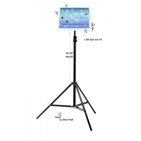 G7 Pro Universal Tablet Tripod Mount and Stand Bundle Kit Fits 5-11 inch Tablets