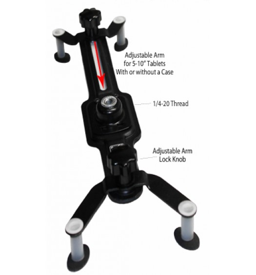 G7 Pro iPad Tripod Mount - For iPad 1, 2, 3, 4, 5, mini, iPad Air 1 2, iPad Pro 9.7 / 10.5