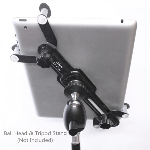 G7 Pro Universal Tablet Tripod Monopod Mic Music Stand Mount Adapter Holder Fits 5-11 inch Tablets