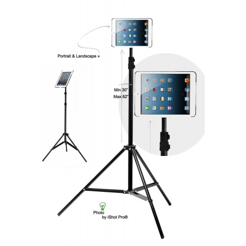 G8 Pro iPad mini 1 2 3 Tripod Mount and Stand Bundle Kit