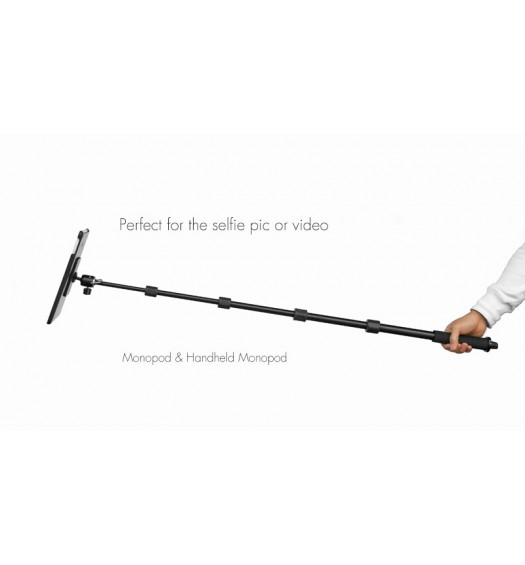 G8 Pro iPad Pro 10.5 Tripod Mount + 70 inch Hand-Held Monopod Bundle Kit