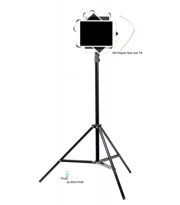 G8 Pro iPad Mini 123 Tripod Mount and Stand Bundle Kit - NEW VERSION 2