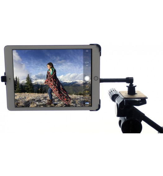G8 Pro iPad Pro 9.7 Tripod Mount + 11 inch 360° Articulating Tripod Adapter Arm