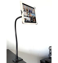 G8 Pro iPad Pro 9.7 360° Gooseneck Wheelchair Clamp Mount