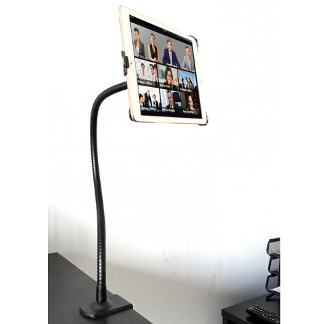 G8 Pro iPad Pro 12.9 360° Gooseneck Wheelchair Mount