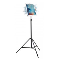 G8 Pro iPad Pro 12.9 (Gen. 1, Gen. 2) Tripod Mount, Swivel Ball Head and Tripod Stand Bundle Kit