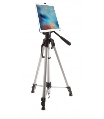 G8 Pro iPad 5 (9.7-inch) Tripod Mount + 60 inch Adjustable Pan Head HD Tripod + Carry Bag