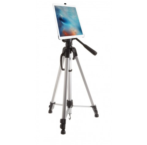 G8 Pro iPad Pro 12.9 Tripod Mount + 60 inch Adjustable Pan Head HD Tripod + Carry Bag