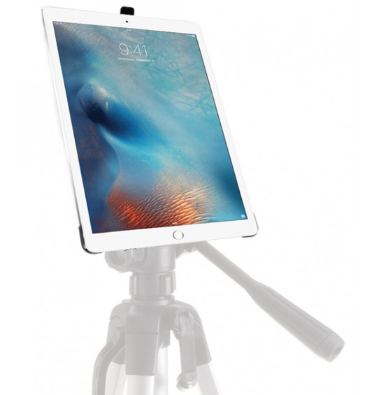 G8 Pro iPad Pro 12.9 Tripod Mount + 8 inch Tripod Adapter + 360° Locking Swivel Ball Head