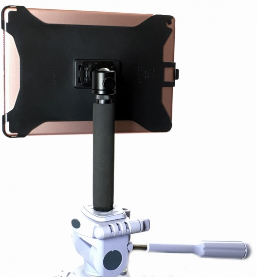 G8 Pro iPad Pro 9.7 Tripod Mount + 8 inch Tripod Adapter + 360° Locking Swivel Ball Head