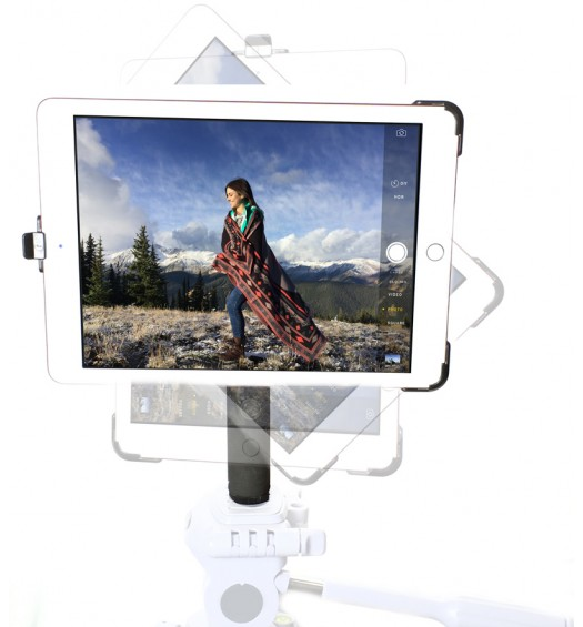 G8 Pro iPad Pro 12.9 Tripod Mount Holder + 8 inch Tripod Adapter