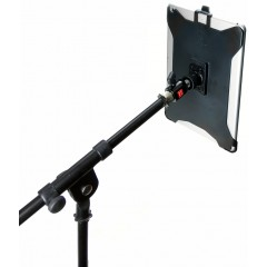 G8 Pro iPad 6 Mic Music Stand Mount + 360° Swivel Ball Head + 5/8 Mic Stand Adapter