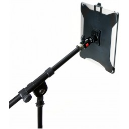G8 Pro iPad 5 Mic Music Stand Mount + 360° Swivel Ball Head + 5/8 Mic Stand Adapter
