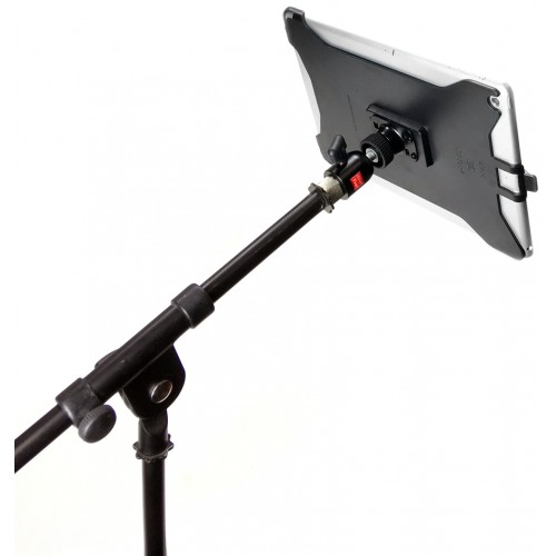 G8 Pro iPad Pro 12.9 (Gen. 1, Gen. 2) Mic Music Stand Mount + 360° Swivel Ball Head + 5/8 Mic Stand Adapter