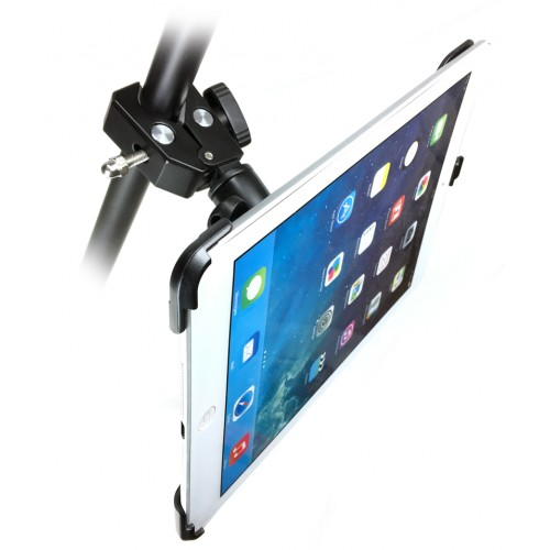 G8 Pro iPad 6 Tripod Monopod and Mic Music Stand Mount + HD Metal Pipe Pole Bar Clamp