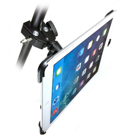 G8 Pro iPad Pro 12.9 Tripod Monopod and Mic Music Stand Mount + HD Metal Pipe Pole Bar Clamp