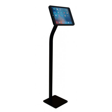 G9 Pro iPad Pro 12.9 (Gen. 1, Gen. 2) Tripod Floor Stand Display Kiosk Mount with Security Key Lock / Charge Cable