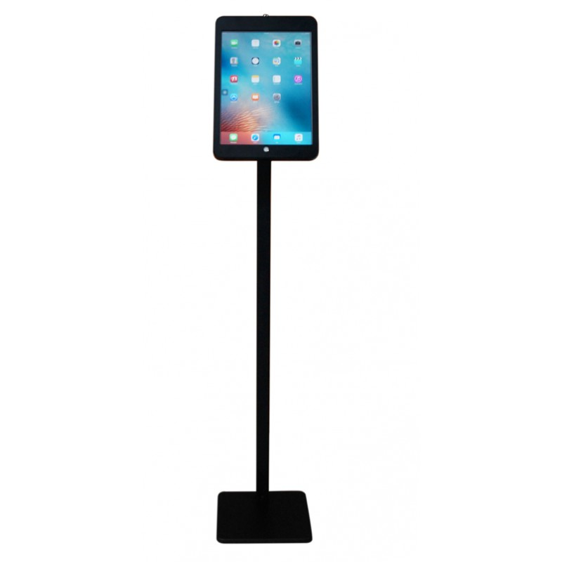 g9 pro ipad pro 129 tripod floor stand display kiosk mount with security key lock charge cable - Ipad Floor Stand