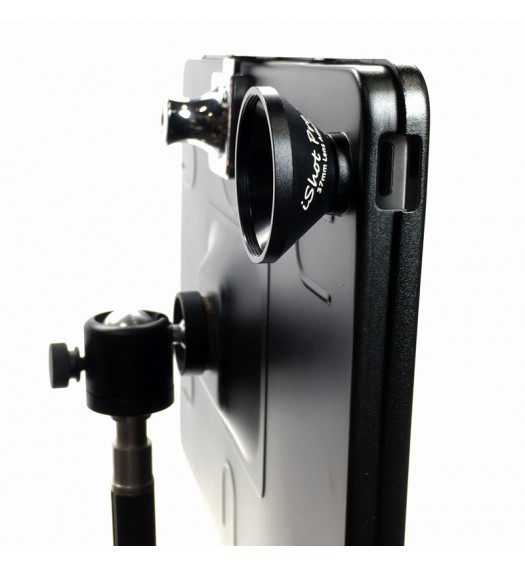 G9 Pro iPad Air 1 Tripod Mount Filmmaking Metal Case + 37mm 3in1 HD Camera Lens Kit