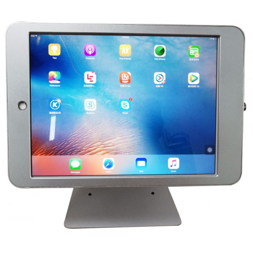 G9 Pro iPad Pro 12.9 Table Top 360° Swivel Kiosk POS VESA Mount Stand with Security Key Locking