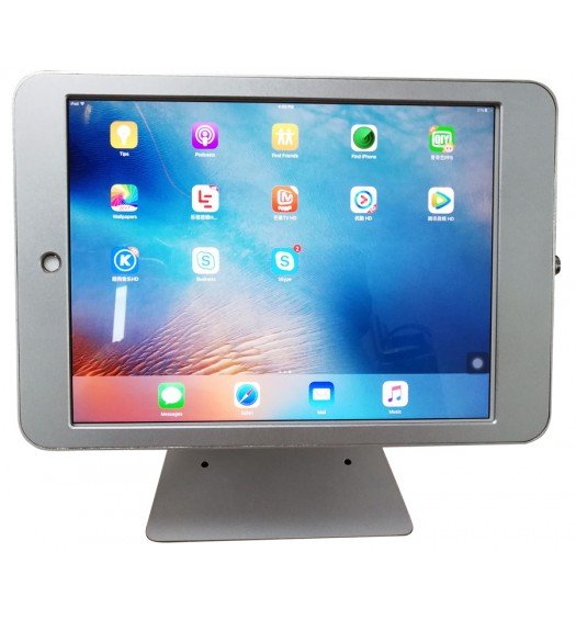 "G9 Pro iPad Pro 9.7"" Table Top 360° Swivel Kiosk POS VESA Mount Stand with Security Key Locking"