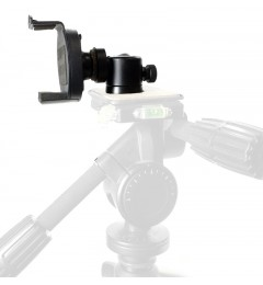 iShot GP5500 iPhone Smartphone Tripod Mount Adapter Holder + 360° Swivel Ball Head