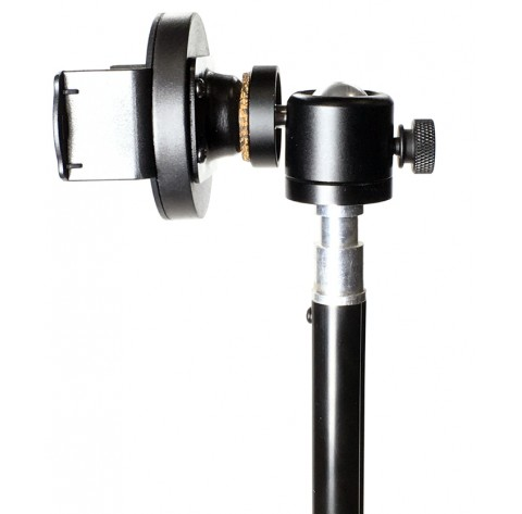iShot GP5500T iPhone Smartphone Tripod Mount + Portable Tripod Stand and 360° Swivel Ball Head