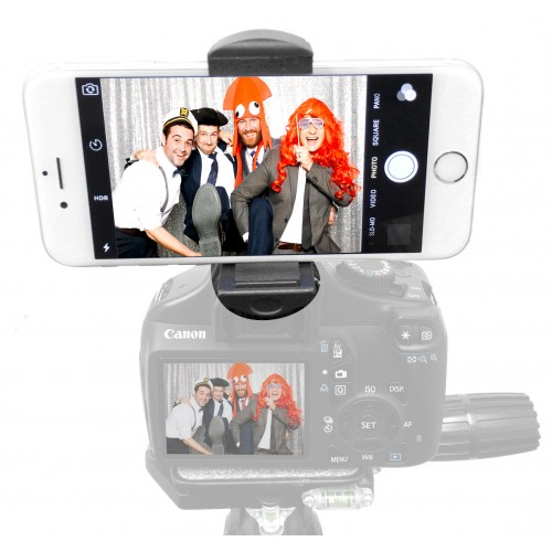 Remora S1 Universal Smartphone iPhone Tripod Monopod SLR Camera Flash Hot Shoe Mount + 360° Swivel Ball Head