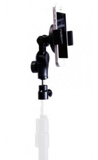 iShot Pro® GP5500 - Universal Smart Phone Tripod Mount Adapter Holder - Works with or Without a Case - 1/4-20 Thread