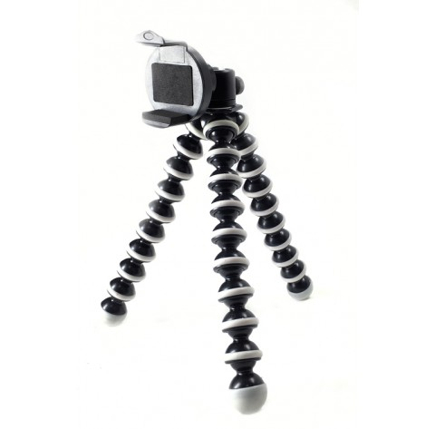 iShot GP5500S iPhone Smartphone Tripod Mount Adapter Holder + Flexible Gorilla Pod Stand and 360° Swivel Ball Head