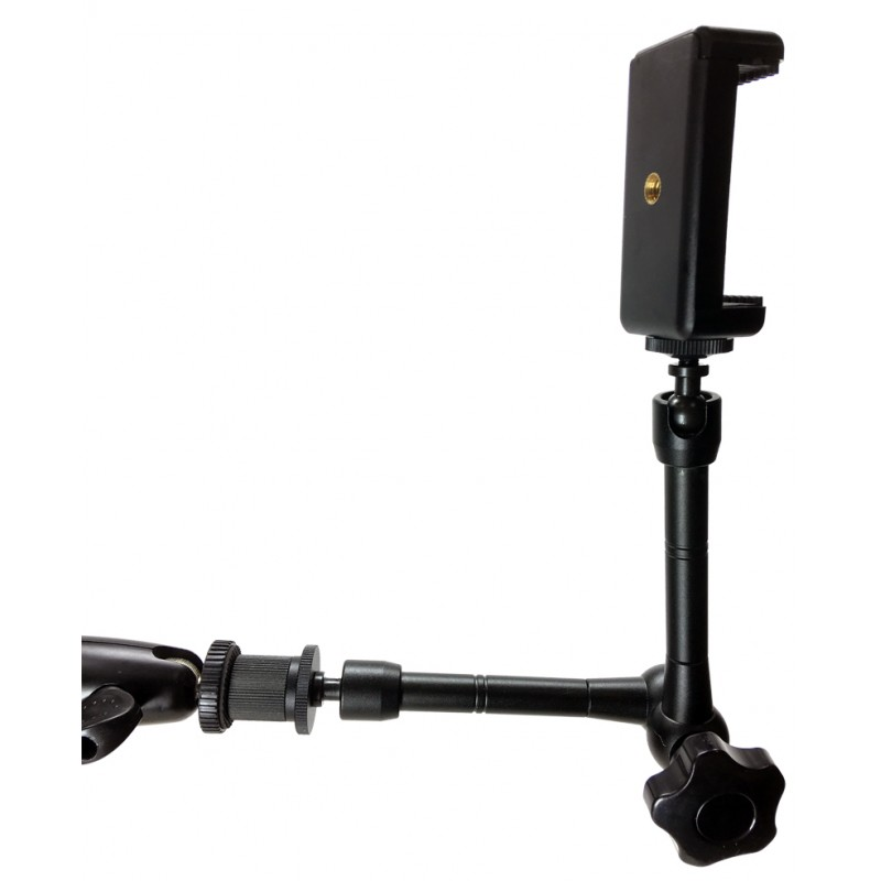 Ishot Gp5500c Xt Iphone Smartphone C Clamp Tripod Mic
