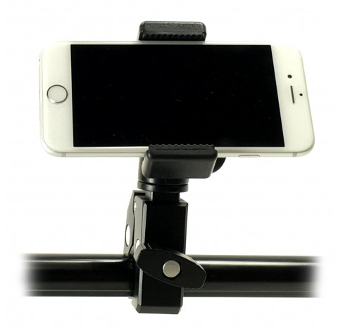 Ishot Gp5500c Iphone Universal Smartphone C Clamp Mic