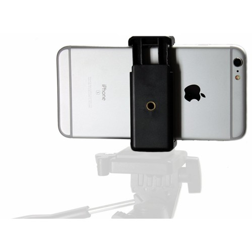 iShot GP5500C iPhone Universal Smartphone C-Clamp Mic Music Stand Mount + Tripod Mount Adapter
