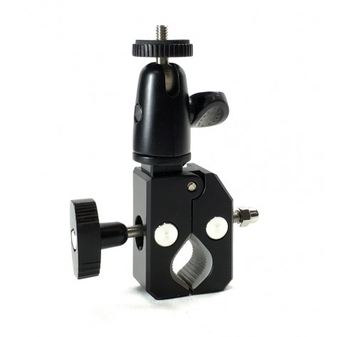 iShot Pro HD Handlebar / Seatpost / Pole Bar Pipe Clamp Mount for GoPro Action Camera
