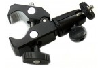 iShot Pro HD Handlebar / Seatpost / Bar / Pole Clamp Mount for SLR Camera, Flash, LED Lighting, iPad / iPhone Mounts